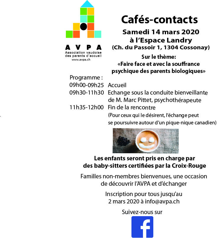 Cafs contacts du 14032020